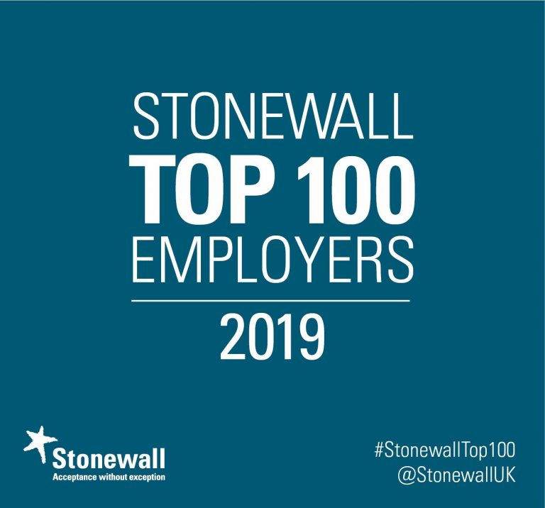 Stonewall Top employer Logo