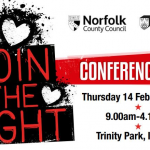 Join the fight conference 2019 logo